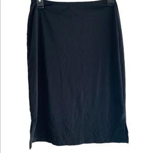 5/$20 Charlotte Russe Medium Pencil Skirt Black